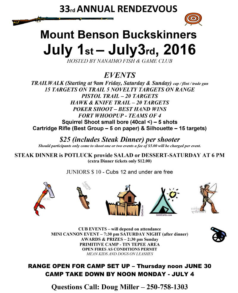 2016 - 33rd ANNUAL RENDEZVOUS b